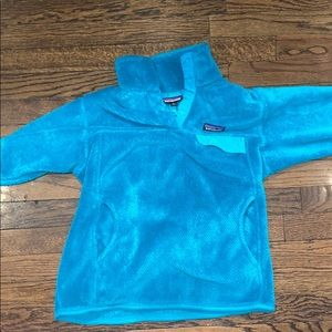 Teal M Patagonia women's fleece